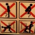 Zakazy w toalecie z Szanghaju