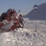 A tymczasem w Rosji również zima