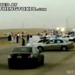 Pokaz driftingu w Arabii Saudyjskiej!