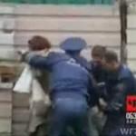 Interwencja rosyjskiej policji