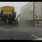 Ostatnie wspomnienie zimy - polska odśnieżarka