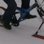 Śnieżny rower - idealny wynalazek?