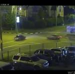 Niebezpieczne skrzyżowanie w Rosji