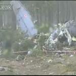 Zdjęcia z katastrofy samolotu CASA