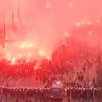 ZAMIESZKI na Marszu Niepodległości - uwaga, BRUTALNE!