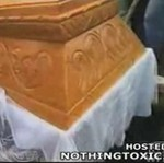 Wpadka na pogrzebie