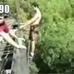 Nieudany skok na bungee