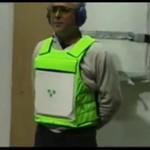 Włoski test kamizelki kuloodpornej