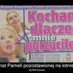 Pamela z lotniska - hit Internetu!