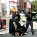 Policja ATAKUJE kalekę!