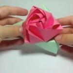 Magiczna róża-origami
