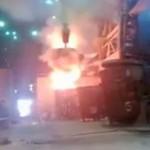 Wypadek w hucie żelaza - ROSJA