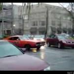 Drifting w centrum miasta!