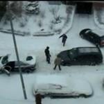 """""""Zimo, napierd*alaj!"""" - czyli uroki śniegu w mieście"""
