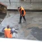 Tak Rosjanie łatają dziury w drogach!