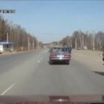 Rosyjska drogówka w akcji