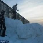 Śniegowy test grawitacji