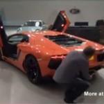 Jak upiec boczek przy pomocy Lamborghini?