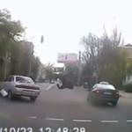 Taksówka POTRĄCIŁA pieszego!