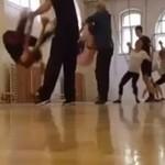 Nieudany trening taneczny