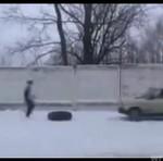Rozrywka w Rosji - skok przez Ładę