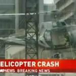 Wypadek helikoptera - w mieście!