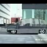 Przeźroczysty Mercedes - WOW!