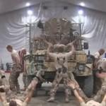 Szwedzcy Marines bawią się w Afganistanie