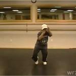 Pięciolatek, który mógłby wystąpić w klipie Ushera