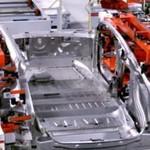 Wewnątrz fabryki Tesla Motors