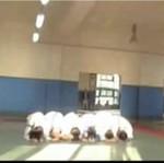 Trening koreańskich zawodników