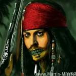 Speedpainting - kapitan Jack Sparrow