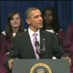 Dzieciak ZASNĄŁ na przemówieniu Obamy!