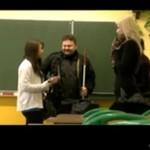 Niewidomy nauczyciel