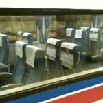 Japonia - RESET siedzeń w pociągu