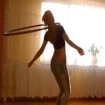 Polka wywija z hula hop - WOW!