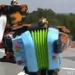 Umuzykalnione roboty