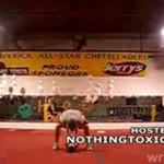 Fatalny upadek podczas treningu cheerleaderek