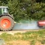 Traktor vs BMW
