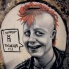 Berliński street art - mówi sam za siebie!