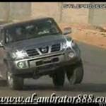 Arabski kaskader - zobacz, jak się bawi!