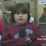 Stremowany dzieciak