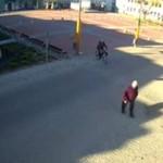 Kierowca samochodu vs rowerzysta