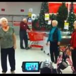 Flash mob w wykonaniu... BABĆ I DZIADKÓW!