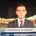 Wściekły obywatel przerywa wystąpienie dziennikarza