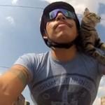 Kot, który jeździł rowerem