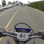 Dobry motocyklista - pomógł niepełnosprawnej!