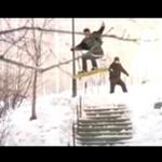 Miejski snowboard - rewelacja!
