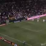 Beckham strzela gola z połowy boiska!