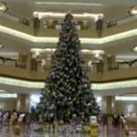 Najdroższa choinka świata - w Abu Dhabi